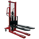 Heavy Duty Manual Pallet Stackers, 1600mm and 2500mm Lift Height