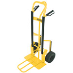 Heavy Duty P Handle Sack Truck With Puncture Proof Tyres