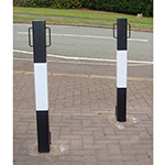 Heavy Duty Square Bollards and Security Posts