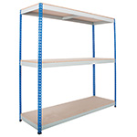 Heavy Rivet Shelving 3 Shelves up to 600kg UDL