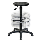 Height Adjustable Industrial Draughter Stool