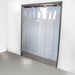 Internal Doorway PVC strip Curtains inc Rail