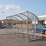 Kenilworth cycle shelter