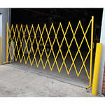 Large Expandable Scissor Barrier