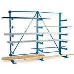 Light Duty Fixed Arm Cantilever Racks
