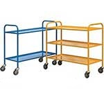 Light Duty 2 or 3 Tier Shelf Trolleys