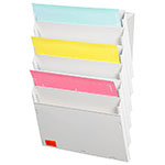 Magnetic Cascading Document Display Rack