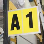 Magnetic & Self Adhesive Bay Markers