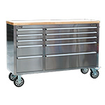 Mobile Stainless Steel Tool Chest