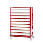 Mobile Tray Racks with Food Grade Trays