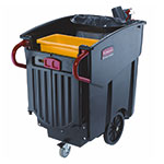 Heavy Duty Mobile Waste Collector Trolley