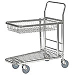 Nesting Stock Trolley with Retracting Tray