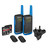 Twin 2-Way Motorola T62 Walkie Talkies & Charger