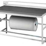 Packing station paper roll holder for fitting under BA/BC/BQ/BS Workbenches