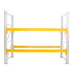 Yellow Pallet Racking Beams