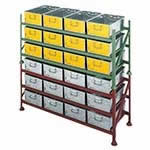 Pallet Stacking Racks for Tote Pans