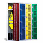 Perforated Door Lockers 1 to 6 Compartments