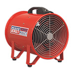 300mm Portable Air Ventilator with 5M Ducting