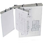 PRO 5 Pin Wall Plan Racks for PRO Plan holders