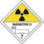 Radioactive III 7 Diamond Label