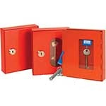 Red Emergency Key Cabinets & Accessories