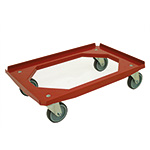 Red Plastic Dolly 200kg load Capacity