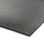Ribbed Rubber Electrical Safety Matting 6mm Thick - per metre
