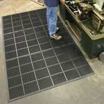 Rubber Heavy Duty Interlocking Anti-Fatigue Floor Mats