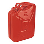 Sealey 20L Steel Jerry Cans