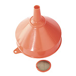 Sealey Orange Polyethylene Funnels