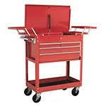 Sealey Trolley with Cantilever Trays
