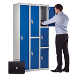 Secure Lockers 1 to 3 Compartments