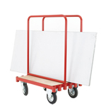 Sheet Carrying Truck with 2 Movable Steel Supports - 250kg Capacity