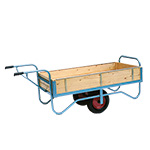 Single Handle Balance Trolley with Solid Ends & Sides 500kg Capacity