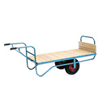 Single Handle Balance Trolleys with Solid Ends 500kg Capacity