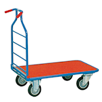 Space-saving  Platform Trolley 400kg capacity