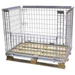 Stackable Mesh Pallet Cages