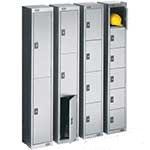 Stainless Steel Compartment Lockers