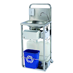 Stainless Steel Mobile Wash Stations