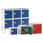 Standard Cube lockers 3 sizes