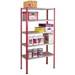 Standard Duty Shelving 2438mm high with 6 Shelf Levels