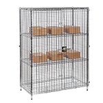 Static & Mobile Eclipse Chrome Wire Security Cages