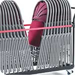 Storage Strap for use with Chair Trolleys to retain chairs