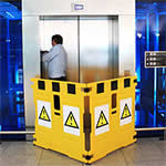 SuperGuard Safety Barrier Frames for Escalators and Moving Walkways