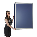 Express Tamperproof Noticeboards With Aluminium Frames