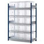 Toprax Shelving Units 1.5m high 150kg Shelf cap