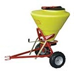 Towable Grit / Salt Spreader 130ltr capacity - 5m spread