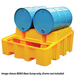 Twin Poly-Racker Horizontal Drum Storage