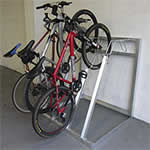 Vertical Bike Storage Racks