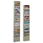 Vertical Literature Racks 11 to 23 compartments
